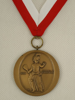 Brązowy medal - awers